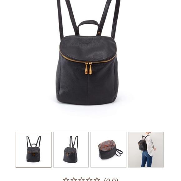 HOBO Bags   River Black Leather Backpack   Poshmark 7558b482ea